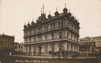 [NEW ZEALAND, AUCKLAND] HARBOUR BOARD OFFICES 1912