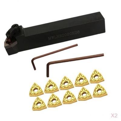 2 zestaw mały metalowy uchwyt na narzędzia