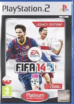 Fifa14 Fifa 14 Polska Wersja Pl Ps2 Playstation 2 6730232248 Oficjalne Archiwum Allegro