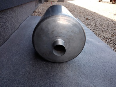 Nerezový plynový ohrievač vody 80 L