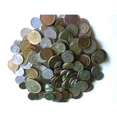 50 иностранных монет, КАЖДАЯ другая
