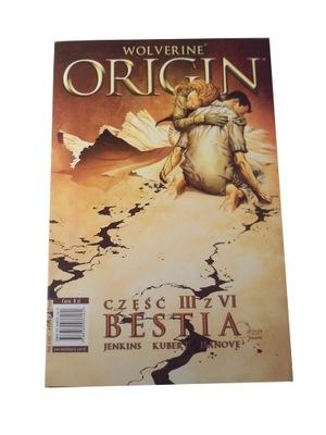 ORIGIN WOLVERINE III BESTIA 2002 r.