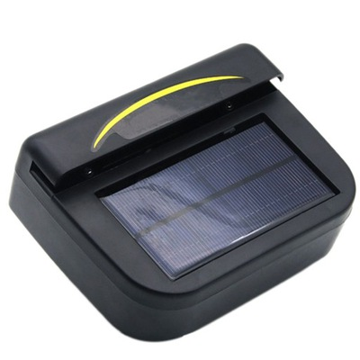 AUTO FAN SOLAR CAR WINDOW COOL FANS МИНИ TRWAŁA SŁ
