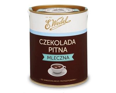 Czekolada pitna mleczna 200 g E.Wedel