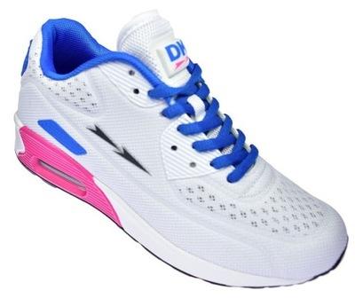 Adidasy męskie siatka joggingi DK Air SKM16016 BL