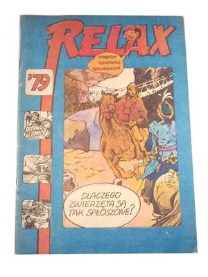 RELAX nr. 24 1979 r. wyd. I stan kolekcjonerski.