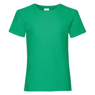 Koszulka dziewczęca Valueweight Zielony 12-13