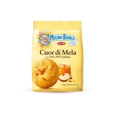 Mulino Bianco Cuor di Mela печенье с джемом яблоко