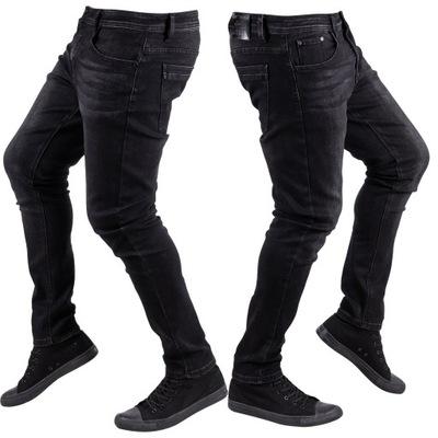Spodnie męskie JEANSY skinny rurki STANG r.36