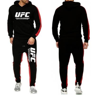 UFC Dres Komplet Męski Spodnie Bluza ROZM.XXXL