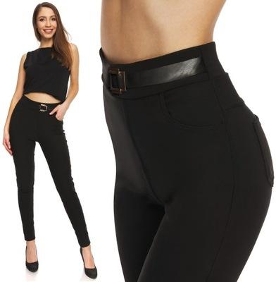 Legginsy damskie bawełniane leginsy spodnie getry