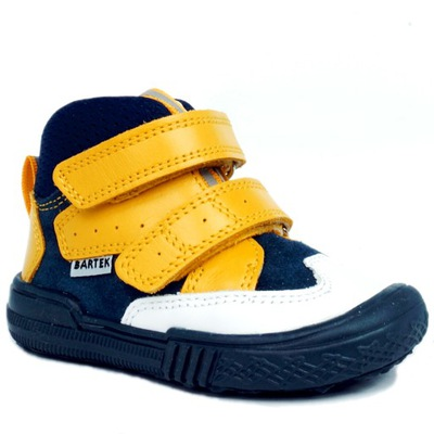 BARTEK buty 21704 TRZEWIKI skóra PROFIL r 25 ŻÓŁTY