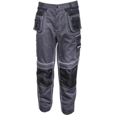 Spodnie robocze do pasa kieszenie monterskie