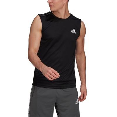 Koszulka adidas Design 2 Move 3-Stripes GM2130 L