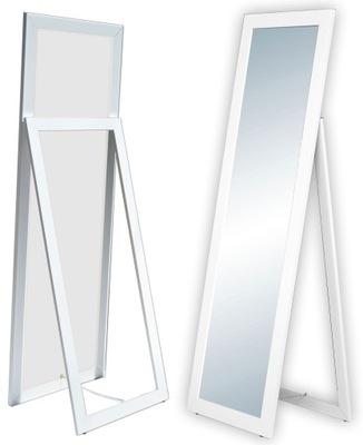 БОЛЬШИЕ зеркало плечо стоящие 160x50 белое микс  *