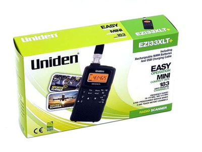 Uniden EZI33XLT+ nowy model skaner VHF UHF airband