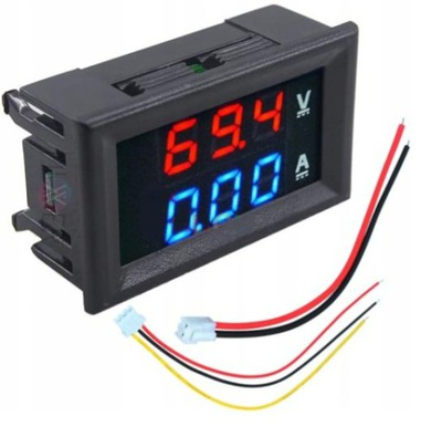 Miernik Woltomierz Amperomierz Wyświetlacz LED 10A