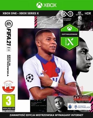 FIFA 21 Edycja Mistrzowska XOne