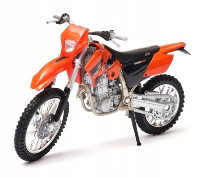 motocykl KTM 525 EXC 1:18 model WELLY