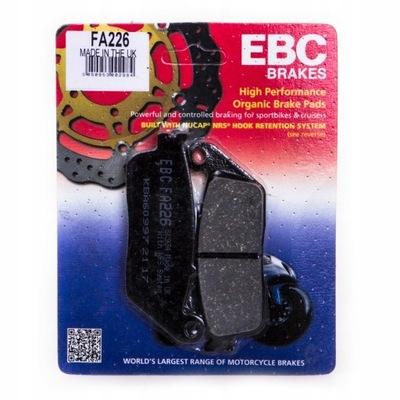КОЛОДКИ ТОРМОЗНЫЕ EBC HONDA CB 600F HORNET 98-06