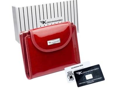 KOCHMANSKI portfel damski skórzany skóra mały RFID