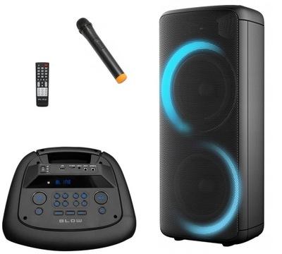 KOLUMNA GŁOŚNIK BLUETOOTH RADIO FM USB MP3 KARAOKE