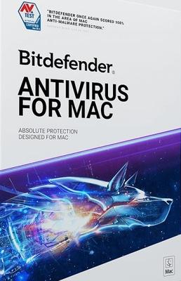Bit defender Antywirus for Mac 1PC MacOS VPN 1rok