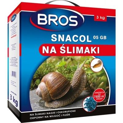 Bros Snacol 3КГ Отрава Средство, На улитки сражает