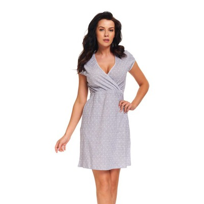 Koszula nocna dla kobiet w ciąży XL 9394 LIGHT GRE