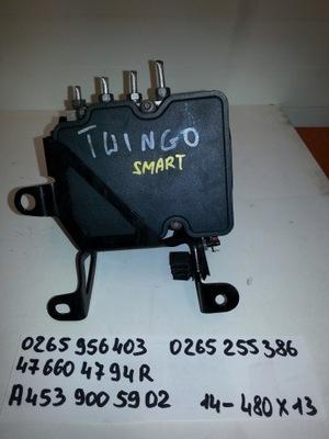 НАСОС ABS ESP SMART FORFOUR TWINGO 0265956403