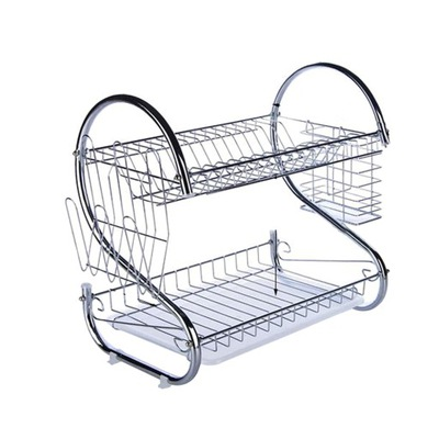 Kitchen Dish Cup Drying Rack Drainer Dryer Tray