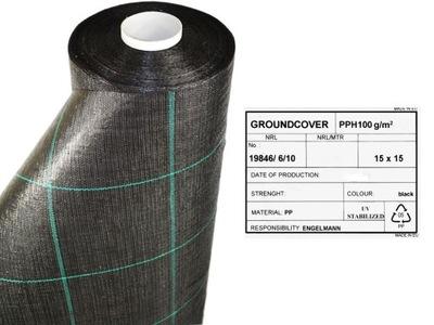 Agrotkanina tkanina ściółkująca 100g szer. 50cm UE