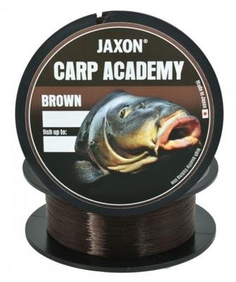 Żyłka JAXON Carp Akademy Brown 0,25mm 600m 13kg