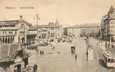 MUNCHEN [МЮНХЕН]. BAHNHOFPLATZ. 191-?
