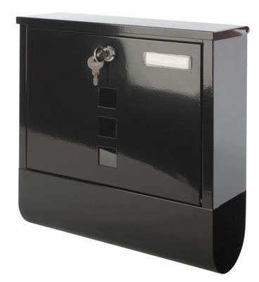 F55 коробка ЯЩИК НА письма ГАЗЕТЫ черная сталь