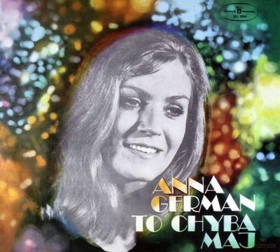 ANNA GERMAN TO CHYBA MAJ CD NAJSZALEŃSZY SZAŁAWIŁA