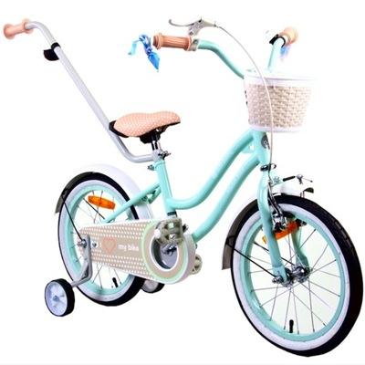 HEART BIKE rowerek dziecięcy MIĘTOWY 14 cal 3-5lat
