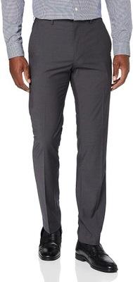 Find. Męskie Spodnie Slim Fit Garniturowe Modne
