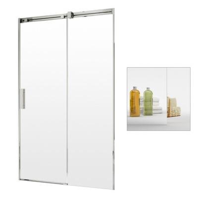 Drzwi prysznicowe wnękowe przesuwne 110 P mirror