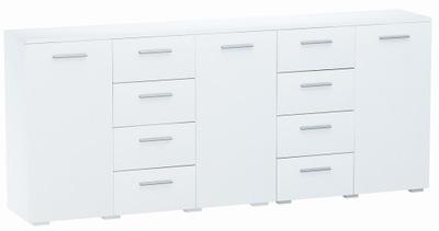 КОМОД 2 +1D4S 200см Белый - коллекция мебели-4K