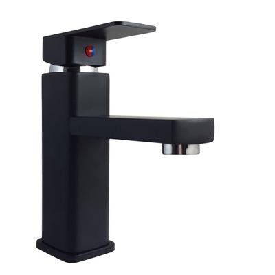 черная смеситель для ванны CUBIC кран