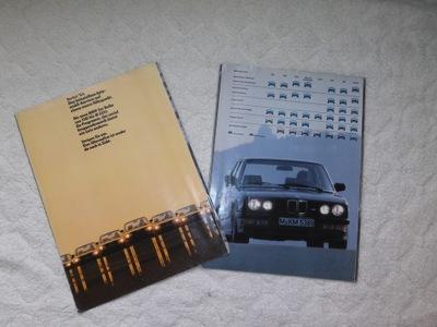 ОРИГИНАЛНЫЕ PROSPEKT BMW 518I, M535I