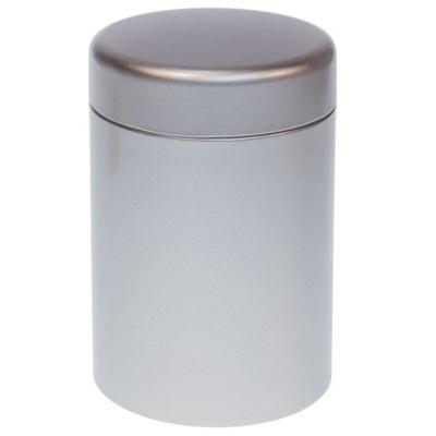 Puszka na herbatę 125g Eigenart okrągła srebrna