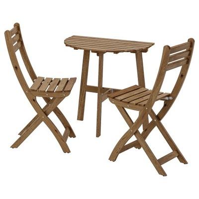 Икеа ASKHOLMEN 1 /2 Столик Балкон  ???  + 2  стулья