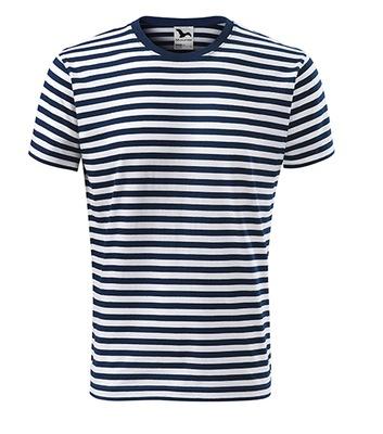 T-shirt Koszulka dwukolorowa w paski Adler L
