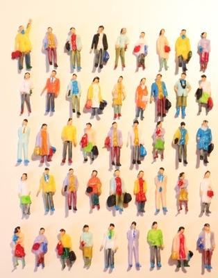 люди фигурки на макет H0-1 :87