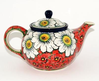 Чайник цветы ?????????? Ноль ,9л керамика