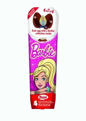 ШОКОЛАДНЫЕ ЯЙЦА с сюрпризом Барби 4 -PAK