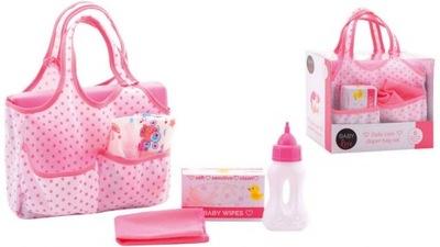 Taška na Doplnky pre bábiky baby Bottle Starostlivosti