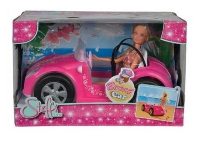 Steffi v konvertibilných Auto pre bábiky Simba auto
